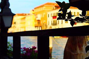 Art du coucher de soleil à Venise