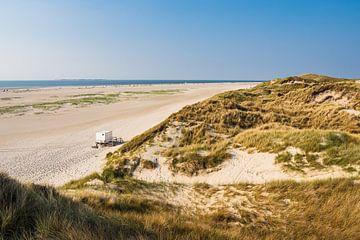Landschap in de duinen van Norddorf op het eiland Amrum van Rico Ködder