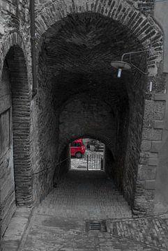 Fiat Panda aan eind van de tunnel van arjan doornbos