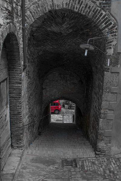 Fiat Panda aan eind van de tunnel