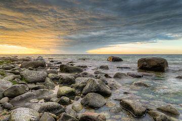 Sunset on Rügen van Michael Valjak