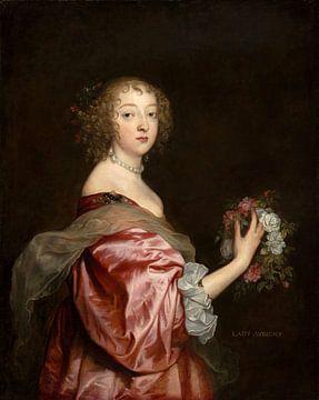 Catherine Howard, Lady d'Aubigny, Antoon van Dyck