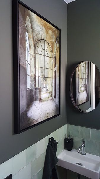 Kundenfoto: Tiefe von Wim van de Water, auf leinwand
