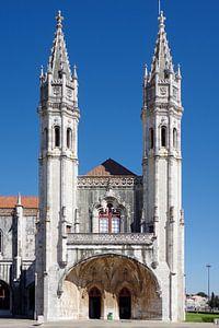 Het Mosteiro dos Jerónimos in Belém, Lissabon