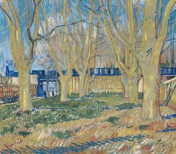 Allee der Platanen bei Arles Station, Vincent van Gogh