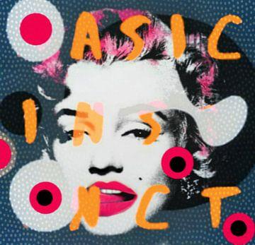 Marilyn Monroe - Dadaismus - Basic Instinct  von Felix von Altersheim