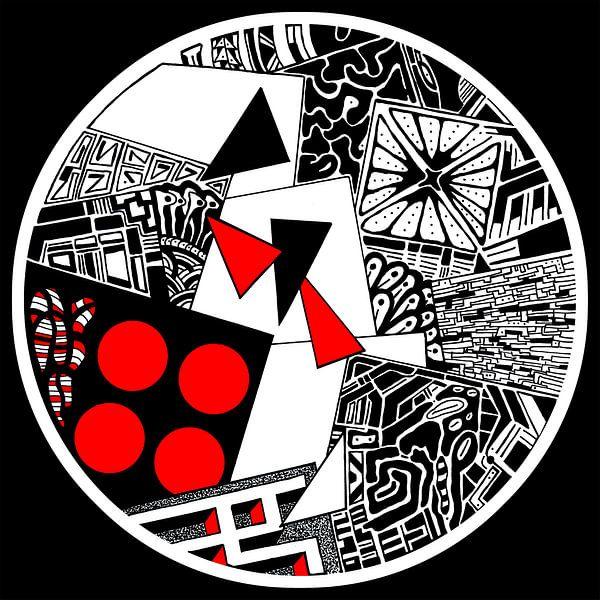 IN Vineri (zwart) van SORKH! Studio