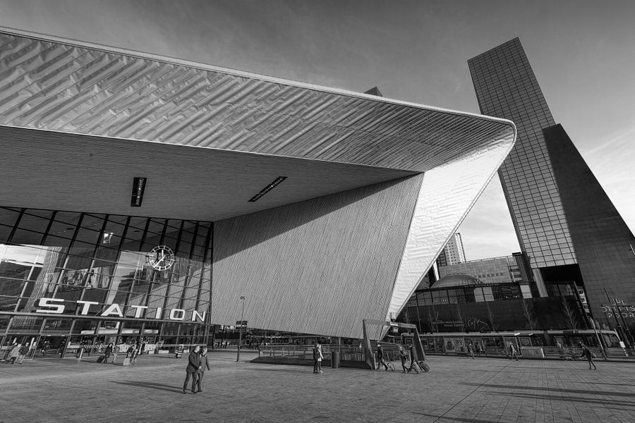 Centraal Station Rotterdam van Gerard Burgstede