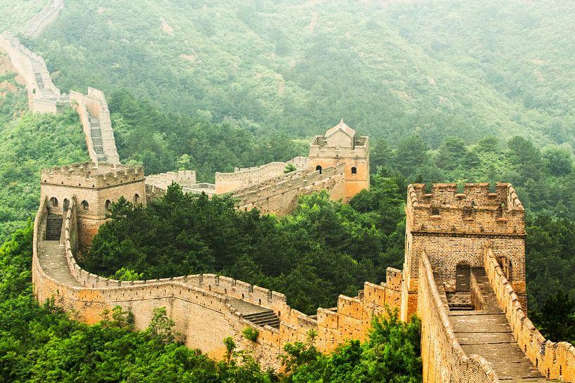 Chinese Muur van Dennis Van Den Elzen
