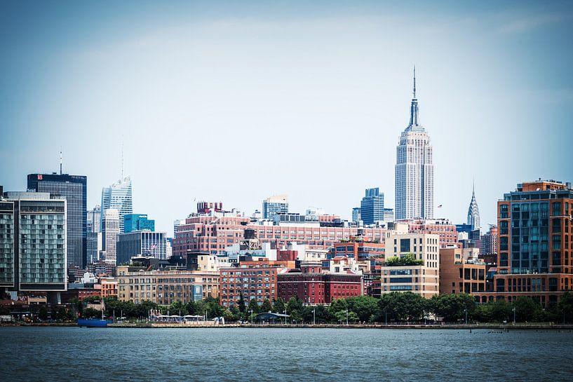 New York Skyline van Alexander Voss