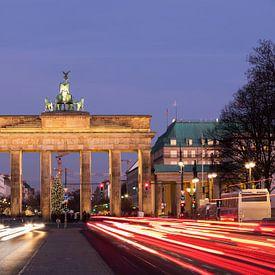 Brandenburger Tor Berlin van Frank Herrmann