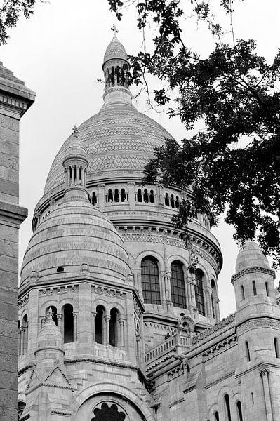 la basilique du Sacré-Coeur de Montmartre van Wim Slootweg