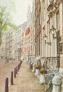 Schilderij: Amsterdam, Herengracht van