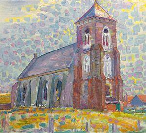 Kirche in Zoutelande, Piet Mondrian