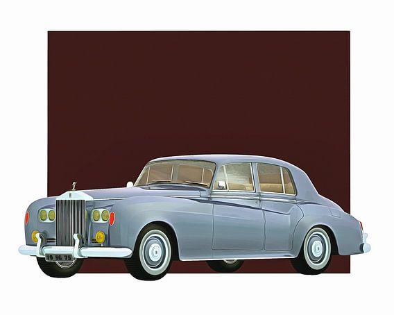 Klassieke auto – Oldtimer Rolls Royce Silver cloud III 1963