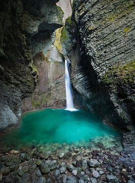 Kozjak Wasserfall von Denis Feiner