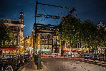 Aluminium bridge at the Steel street van Jeroen de Jongh