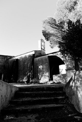 De kapel van Sainte-Anne in Saint-Tropez