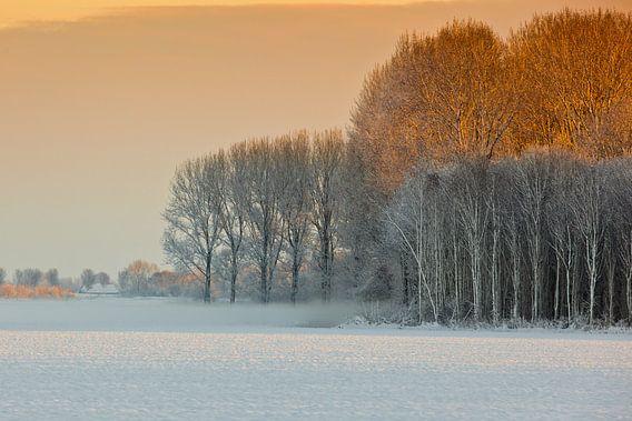 Sneeuwlandschap in Nederland