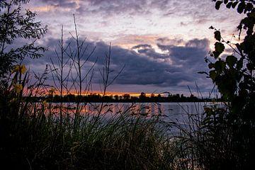 Sonnenuntergang und Wolken von Michael Nägele