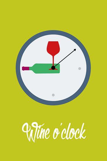 Wine O'clock van Harry Hadders
