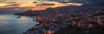 Madeira Funchal Panorama von Jean Claude Castor