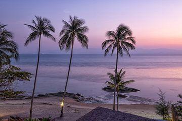 Het eiland Koh Phangan van Bernd Hartner