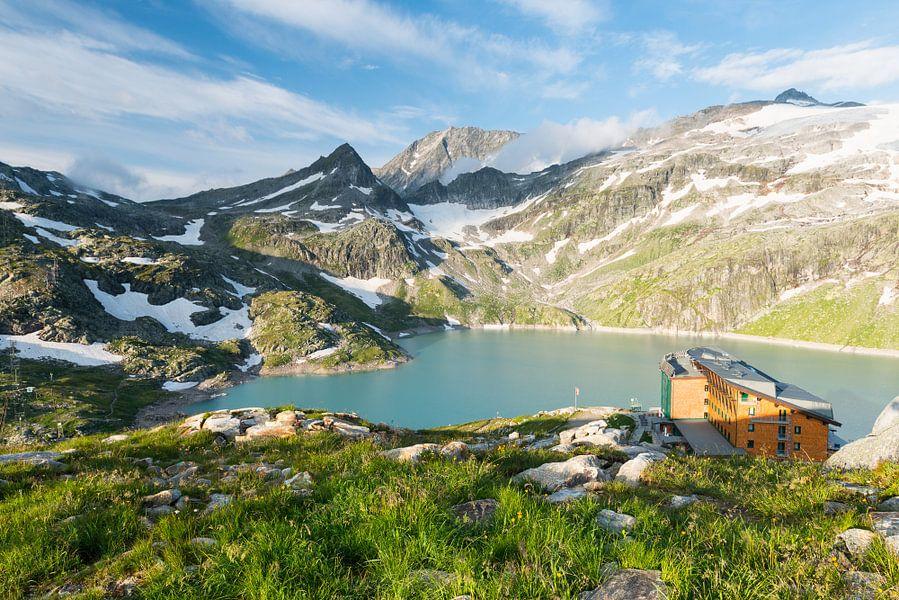 Oostenrijkse Alpen - 2 van Damien Franscoise