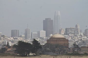 Skyline San Francisco von Paulien Hemelaar