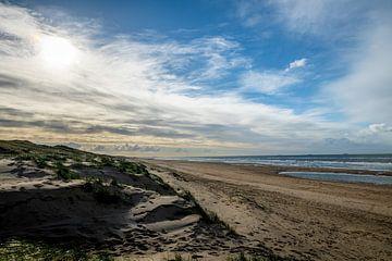 Dünenlandschaft an der Küste von Noordwijk von Linsey Aandewiel-Marijnen