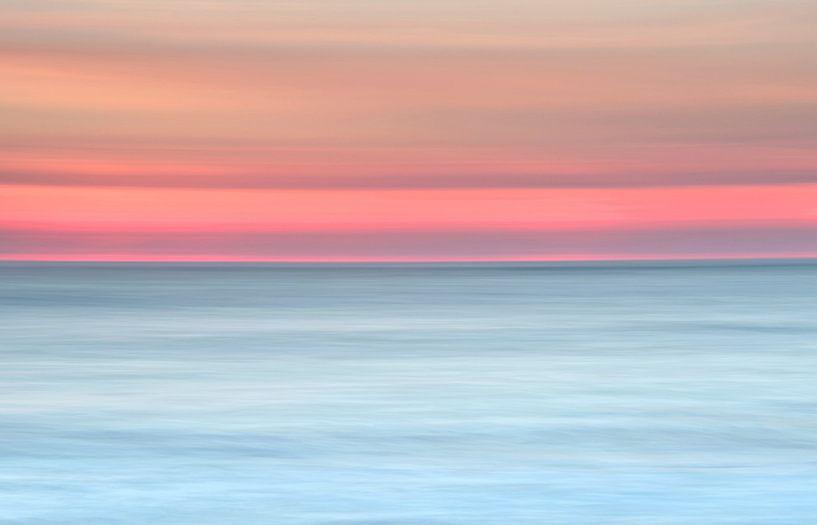 Lijnenspel aan zee sur Remco Stunnenberg