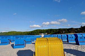 Strandkörbe in Binz, Rügen