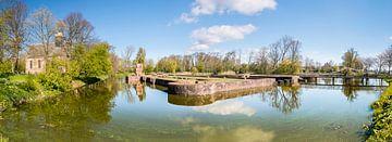 Slotgracht panorama van Fotografie Egmond