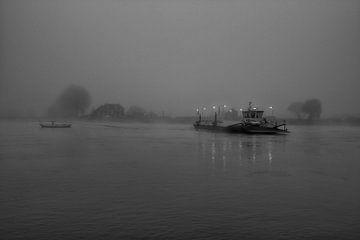 Fähre in Millingen von Peter Bartelings Photography