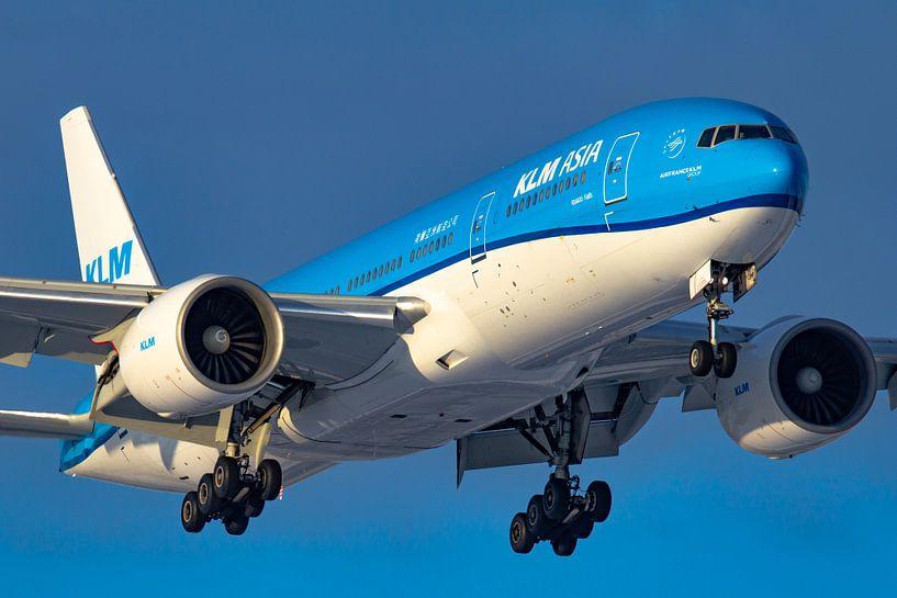 KLM Boeing 777 van Dennis Dieleman