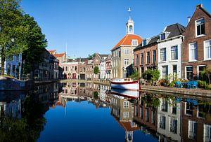 Zakkendragershuisje aan de Schie in Schiedam