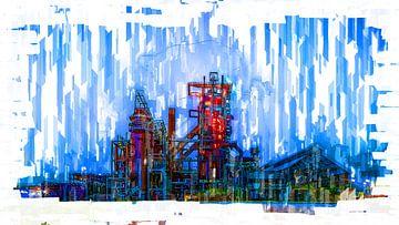 Staalfabriek Dortmund Phoenix West van Johnny Flash