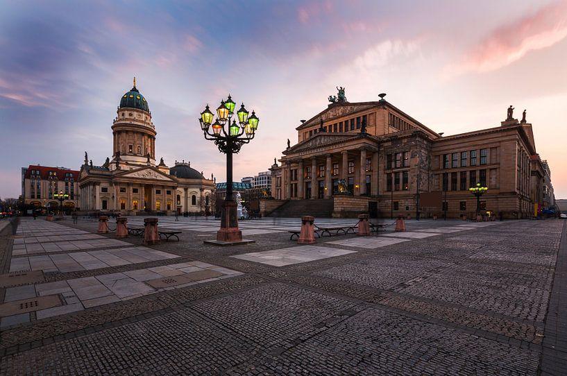 Gendarmenmarkt Berlijn van Frank Herrmann