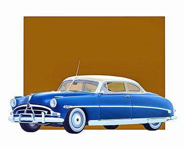 Klassieke auto – Oldtimer Hudson Hornet Coupe 1953