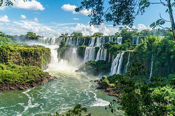 De beroemde Iguazu Watervallen in Zuid Amerika van Ivo de Rooij