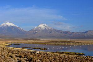 Vulkanen en water van