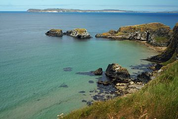 Küste in Nordirland von Babetts Bildergalerie
