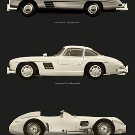 Mercedes Benz meest legendarische modellen van Jan Keteleer