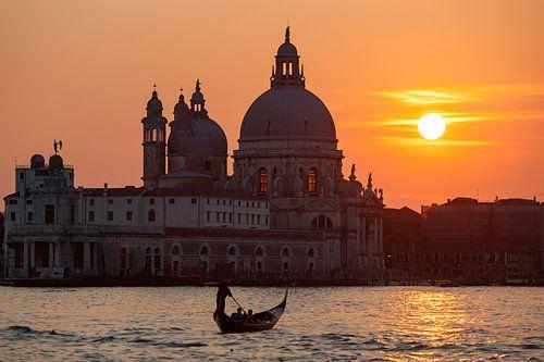 Sonnenuntergang in Venedig von