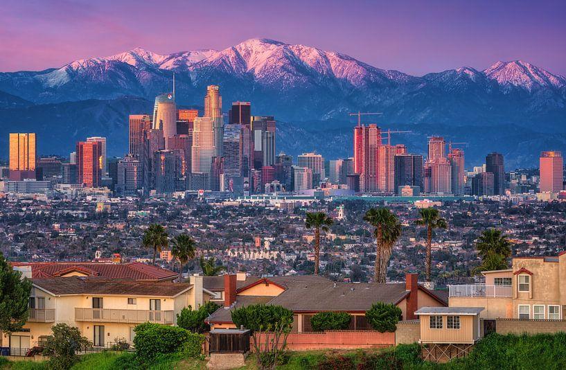 Los Angeles van Photo Wall Decoration