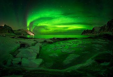 Aurora Borealis on Tugeneset von Wojciech Kruczynski