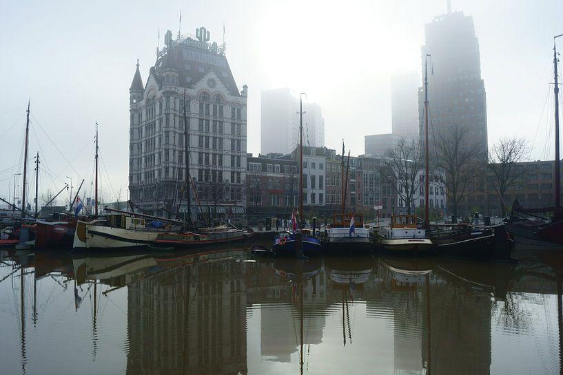 Oude Haven Rotterdam van Michel van Kooten
