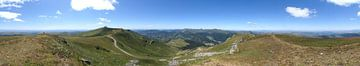 Panorama Puy du Rocher van Studio voor Beeld