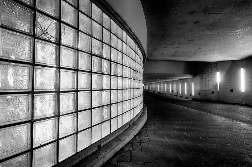 Tunnel in Fine Art stijl van Mark Bolijn