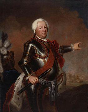 Antoine Pesne, Friedrich Wilhelm I. König von Preußen (1713-1740) - 1733 von Atelier Liesjes